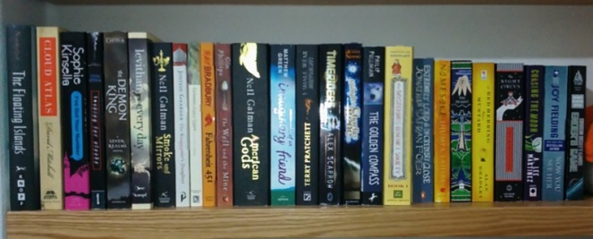 "These are the ""physical"" books I read. The rest were ebooks."