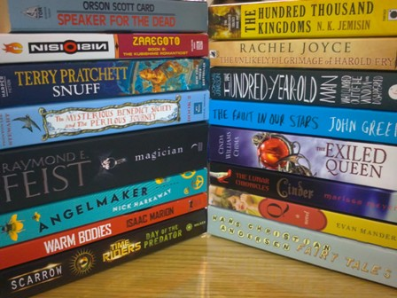 As you can see, when I buy books... I just don't hold back. I've bought all these books in less than 3 months!