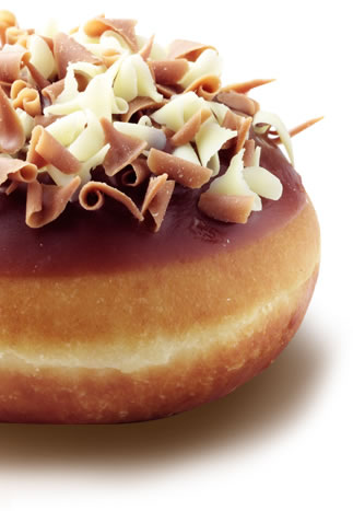 This yummy dessert is stuffed with Nutella. Absolutely to-die-for. (Photo Credit: http://krispykreme.co.uk)