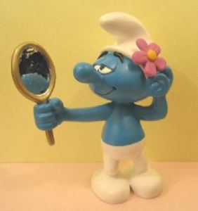 Well, I'm not as bad as Vanity Smurf, but you get the gist.