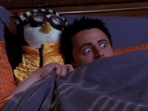 Scared Joey