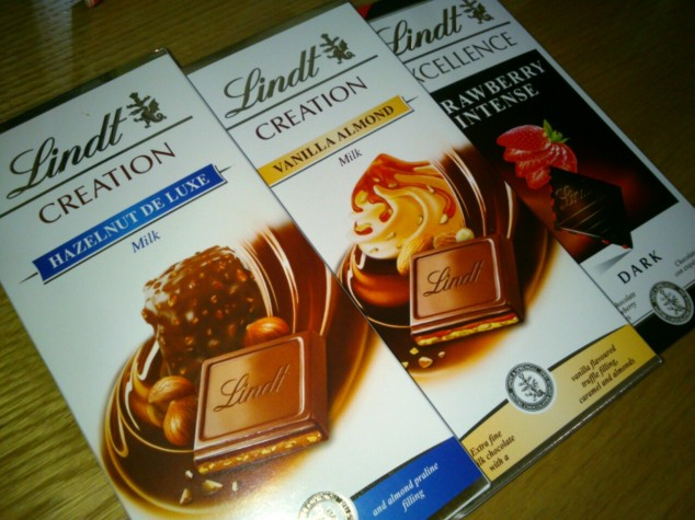 Nothing makes me happier than finding new kinds of chocolate. Those three bars are absolutely delicious!