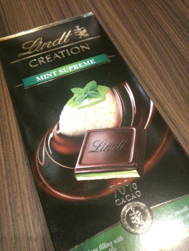 I cannot resist a new chocolate bar when I see it. This was very delicious. =D