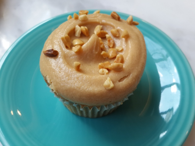Peanut Butter & Jelly Cupcake