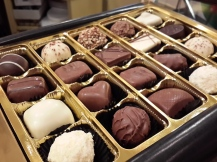 """We made a stop at Butler's Chocolates. They claim to be the """"Purveyors of Happiness"""", and with good reason too."""