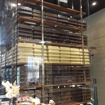 Actual bars of chocolate. I was in awe.