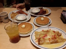 My first trip to IHOP. Who knew breakfast could be so delicious?!