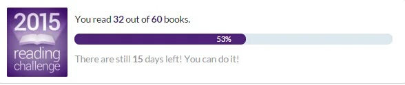 Goodreads believed in me till the very last minute, but I sadly failed it.